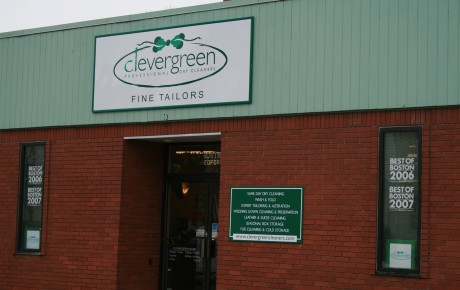 Green Dry Cleaner in Medford MA